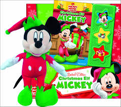 mickey mouse u0026 friends christmas elf mickey play a sound and