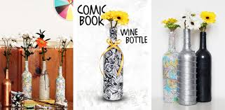 silver wine bottles crafts kavett