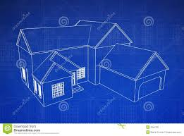 apartments house blueprints house blueprint royalty free stock