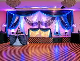 wedding reception backdrop lighting u0026 sweetheart table decor
