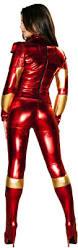Robot Costume Halloween Women Metal Iron Mistress Machine Robot Costume
