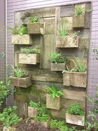 Pallet Garden Wall by A Smaller Version Of This Kind Of Thing Would Cover Up The Ugly