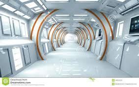 innen architektur futuristische innenarchitektur stock abbildung bild 45050233