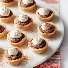 mini chocolate chess tarts recipe myrecipes