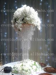 Chandelier Centerpieces Shining Crystal Centerpieces For Wedding Table Decoration Square