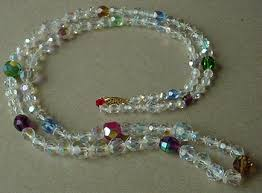 crystal bead necklace jewelry images Bead jewelry bead necklaces gif