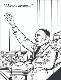 martin luther king jr a head caricature of martin luther king