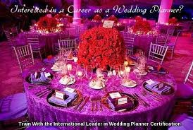 wedding planner certification course wedding planner course and certification program institute of
