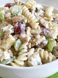 chicken pasta salad fruity cashew chicken pasta salad together as family