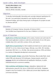 Sample Resume For Java J2ee Developer by 100 Architecture Resumes Examples Of Resumes 81 Stunning