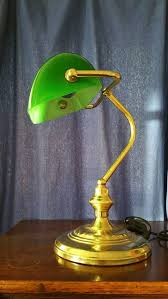 green glass shade bankers l banker desk l green l design ideas