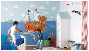 kinderzimmer pirat kinderzimmer piratwandgestaltung ruaway
