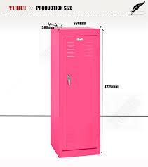 metal kids lockers kids furniture 2 tier mini metal clothes locker for