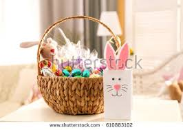 beautiful easter baskets easter basket stock images royalty free images vectors