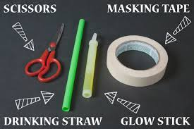 glow in the dark halloween party ideas diy masking tape hand prop wholesale halloween costumes blog