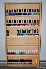 makeup storage nail polish rack unbelievable makeupnd organizer