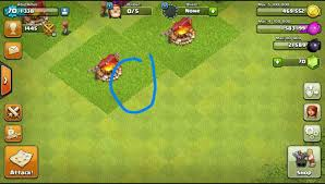 clash of clan clash of clans written muhammad saw name on army camp