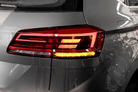 vw led tail lights kit facelift led rear lights for vw golf 7 sportsvan