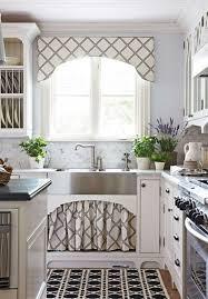 kitchen room design gray curtains kitchen features gray valance