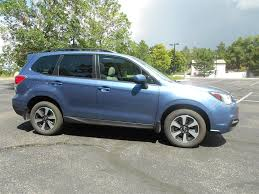 subaru forester 2017 blue ent auto auction 2017 subaru forester 2 5 premium last run
