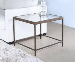 mitchell gold vienna side table in antique brass 8