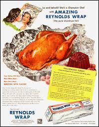 thanksgiving turkey names vintage reynolds wrap ad complete with recipe for foil roasted