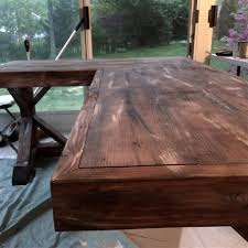 office home office desk plans how to build a rustic office desk