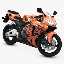 cbr new model super bike 3d model