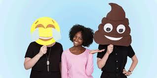 how to diy an emoji halloween costume homemade emoji face