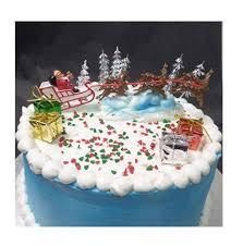 Christmas Cakes Decorations by Christmas Cake Decorations Amazon Com