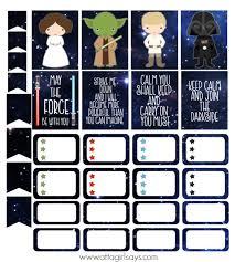 cut u0026 print star wars stickers planner atta