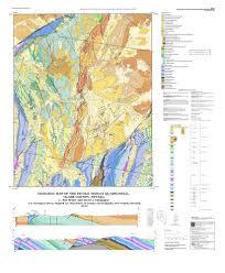 Nevada County Map Geologic Map Of The Devils Throat Quadrangle Clark County Nevada