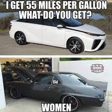 Low Car Meme - women only like low mpg car owners gatekeeping