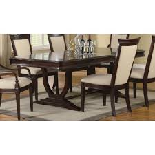 9 dining room set dining room furniture set in merlot cappuccino