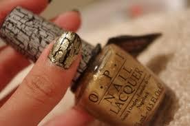 o p i shatter nail polish gold shatter