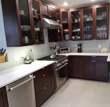 custom kitchen cabinet doors with glass cherrystone furniture custom kitchen cabinets with top