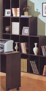 Amazon Com Coaster Contemporary Home Office Cube Bookcase Display