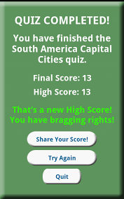 South America Capitals Map Quiz by Amazon Com South America Countries And Capital Cities Appstore