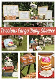 travel themed baby shower precious cargo themed baby shower pretty my party