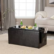 Large Storage Ottoman Bench Ottomans Storage Benches For Living Room Ottoman Bench Large