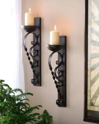 Brown Wall Sconces Sconce Kirkland Wall Sconces Brown Twisted Pillar Sconce Set Of