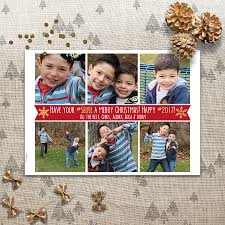 holiday instagram photo card have your selfie a merry christmas