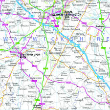 wales and west midlands regional road map wall map 6 u2013 map marketing