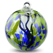 12 Inch Glass Gazing Balls Witch Ball Folklore