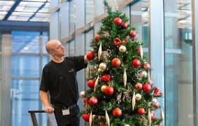 Commercial Christmas Decorations Installation commercial christmas trees u0026amp decorators ambius