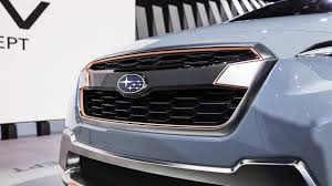 subaru crosstrek grill subaru xv concept previews next crosstrek in geneva