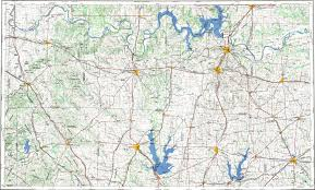 Plano Map Download Topographic Map In Area Of Plano Sherman Denton