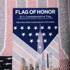 Flags Of The United States Flag Of Honor U2013 9 11 Memorial Museum Store