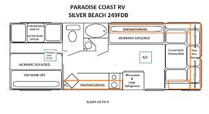 floor plans paradise coast rv
