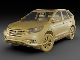 honda crv model detailed honda cr v 2012 3d cgtrader